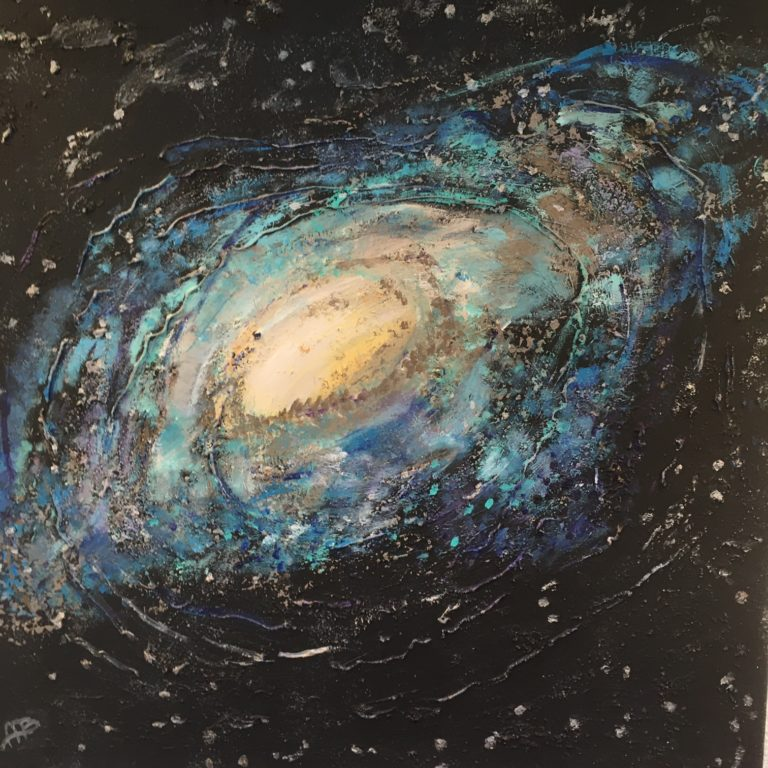 Aliene Ameln - Blue Galaxy